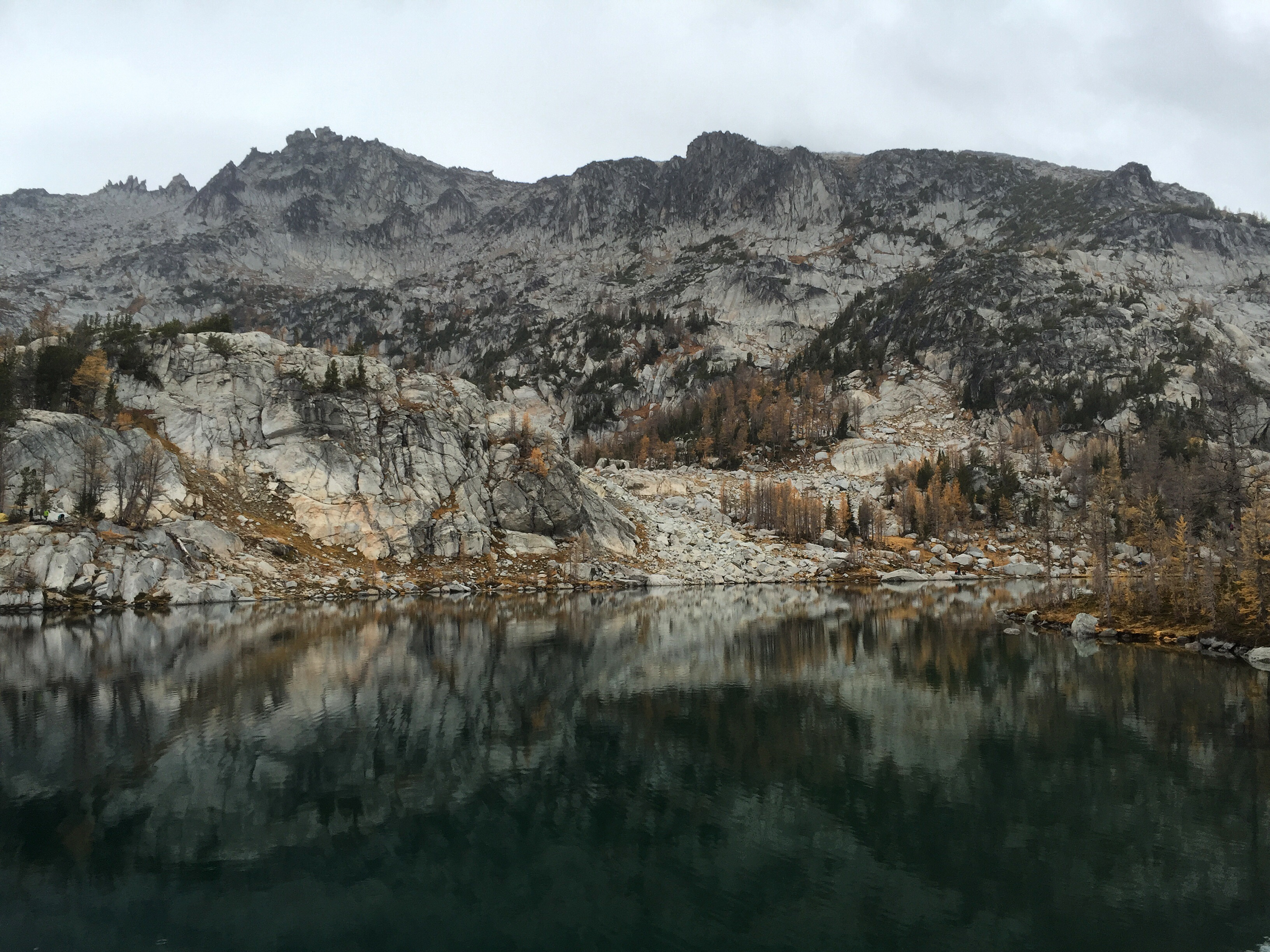 Inspiration Lake in the Enchantments.