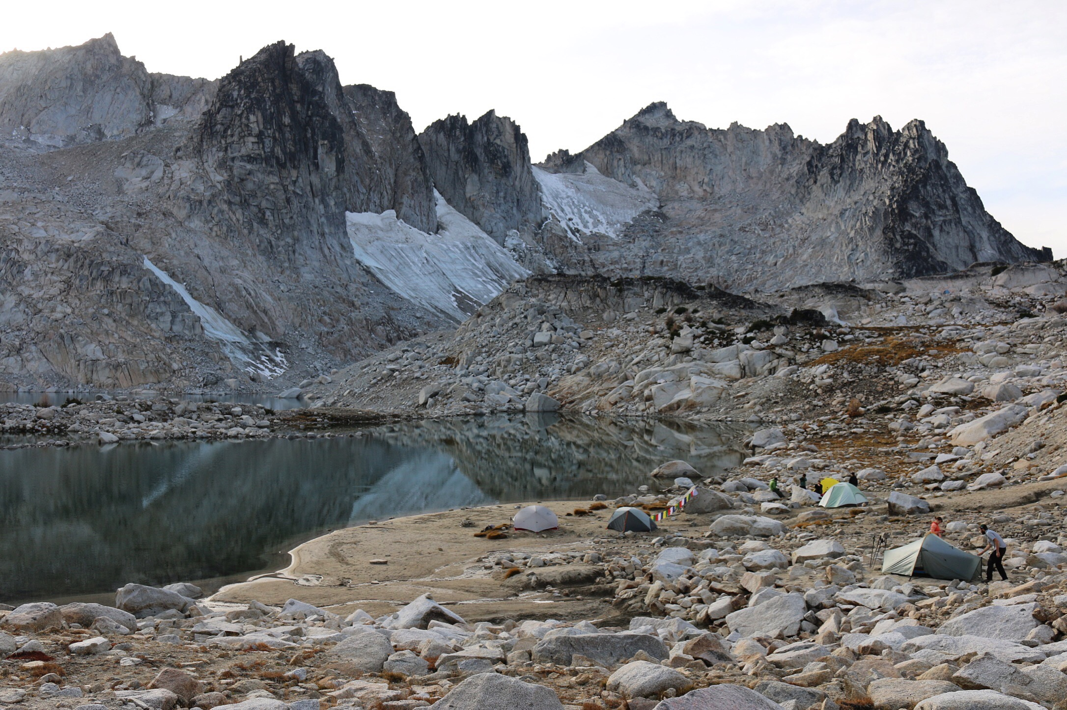 Backpacking through the Enchantments.