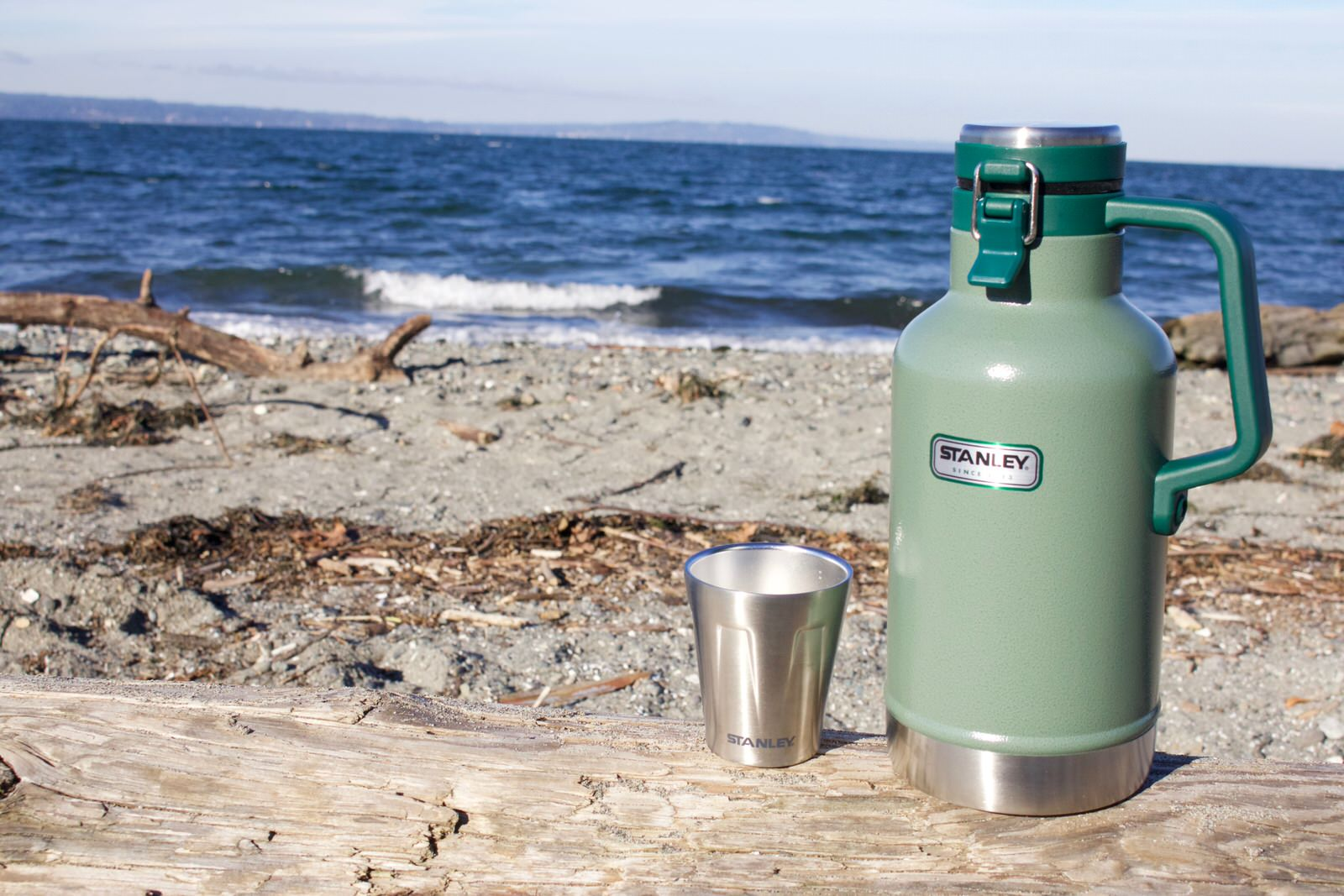 Happy Hour at Car Kreek Park with a Stanley Growler